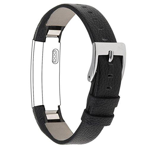 For Fitbit Alta Strap Leather Alta HR Band, SnowCinda Adjustable Accessory Replacement Bracelet Sport Straps for Fitbit Alta and Fitbit Alta HR Test