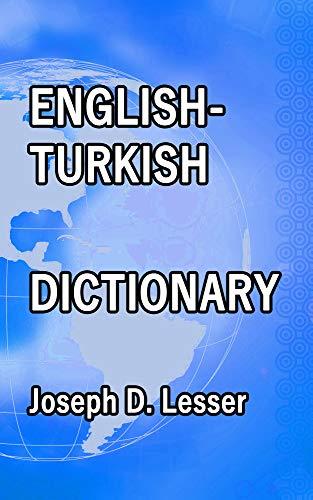 English / Turkish Dictionary (Dictionaries Book 27) (English Edition)