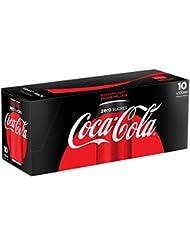 Coca-Cola Zéro Canettes 10 x 33 cl - Frigo Pack