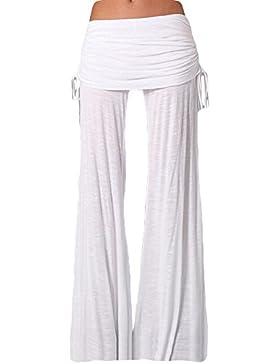 Casual Cool Allentato Pantaloni Da Donna Larghi Dritti Yoga Pants Baggy