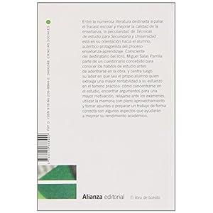 Técnicas De Estudio Para Secundaria Y Universidad (El Libro De Bolsillo - Ciencias Sociales)