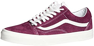 Vans Old Skool Femme Chaussures Baskets Mode Grape Wine EUR 40, UK 6.5, US 9