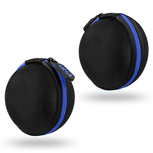 Gizga Essentials G11 Earphone Carrying Case for Earphones, Headset, Pen Drives, SD Cards (Blue) Image 6