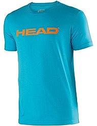 Head Ivan - Camiseta de running para hombre, color Turquesa, talla L