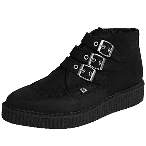 T.U.K. A8996, Stivali uomo nero Black, nero (Black), 45 EU