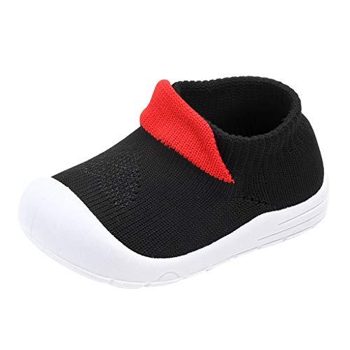 koperras Reine Farbe Baby Jungen und Mädchen Farbe fliegen gewebt Mesh Sportschuhe Socken Schuhe Freizeitschuhe Net Schuhe einen Fuß Slip - Kleinkind Chuck Taylors 2 Größe
