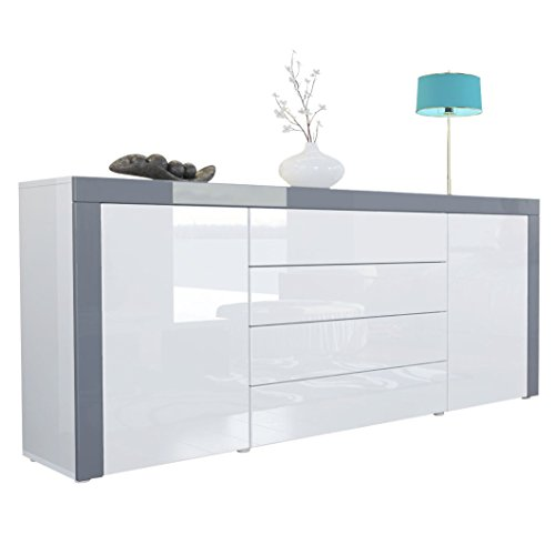 White Gloss Sideboards: Amazon.co.uk