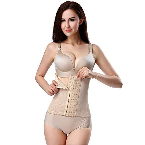 DHINGM Frauen-Postpartum Bauch-Gürtel, aus angenehmen, verstell- und dehnbarer Polyester-Faser, doppelt einstellbare Velcro Regelt die Atmungsaktivität des Mesh-Substrat (Size : XXXL)