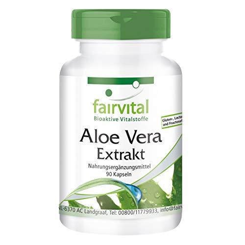 Aloe Vera Kapseln - VEGAN - 90 Kapseln - Aloe-Vera Barbadensis Miller