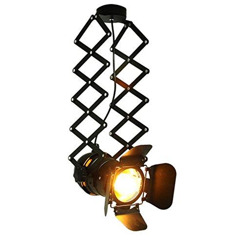 MEILING Industrial Wind Bar Bekleidung Store Personality Probe Scheinwerfer Teleskop-Lampe Loft RH American Rural Deckenleuchten