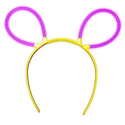 Knicklichter Bunny Ohren Haarreif in LILA (violett) im Komplett Set. Wiederverwendbar! Neueste Generation. Unter eigenem Label produziert. von KnickLichter.de auf Lampenhans.de