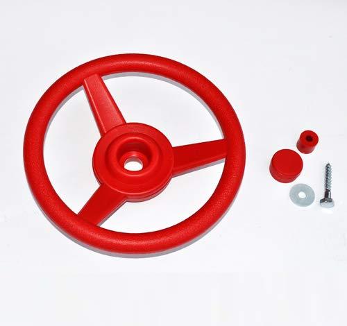 Unbekannt Lenkrad/Steuerrad für Spielanlagen, rot