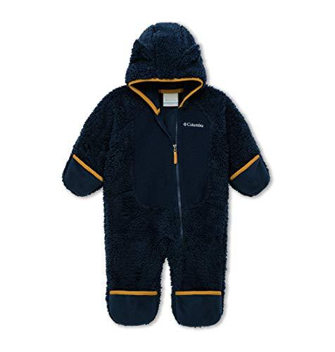 Columbia Kleinkinder Foxy Baby Sherpa-Strampler, Blau (Collegiate Navy, Canyon Gold), 6 Monats
