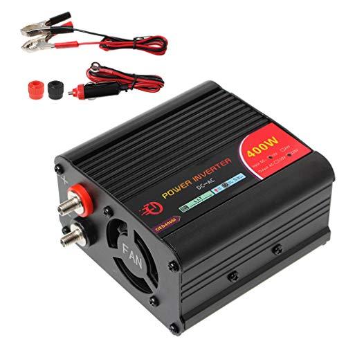 Runrain 400Watt Power Inverter DC 12V a 220V AC Inverter Auto con Porta di Ricarica USB Nuovo