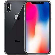 "Apple iPhone X Single SIM 4G 64GB Grey - Smartphones (14.7 cm (5.8""), 64 GB, 12 MP, iOS, 11, Grey)"
