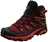 Salomon X Ultra 3 Mid GTX Chaussures de randonnée red