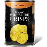 YORKSHIRE CROUSTILLANTS poivre noir chips 6 x 100g Drums (végétarien)