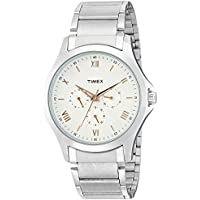 Timex Everyday Formals Analog Silver Dial Men's Watch - TW000X116