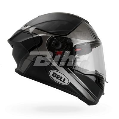 Bell caschi Pro Star Flex, Tracer nero/argento, taglia L