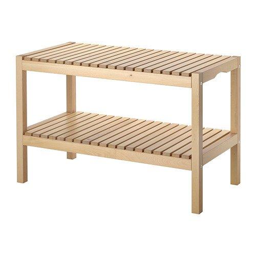 IKEA MOLGER -Bench Birken