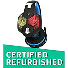 (Certified REFURBISHED) Redgear Hell Scream Professional Gaming Headphones with 7 RGB LED Colors and Vibrations