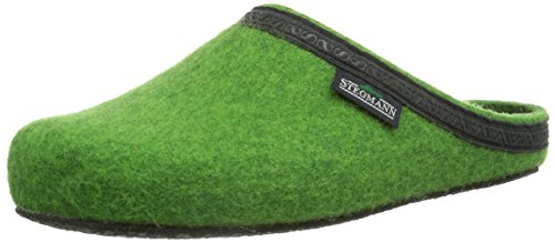 Stegmann  Stegmann 127, Pantoufles non doublées mixte adulte Vert - Grün (8819 limegreen)