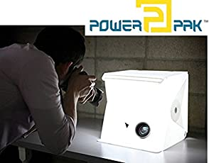 Powerpak MK-26 LED Tabletop Portable Photo Studio