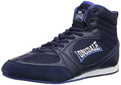 LONSDALE Chaussure de boxe Widmark pour Homme - Bleu - Bleu marine/bleu, 41