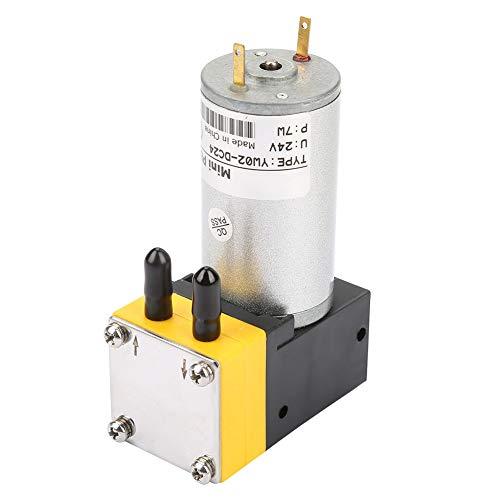 Miniatur Membranpumpe Selbstansaugende Wasserdruck Vakuumpumpe 24V 0.4 1L / min für Luft und Flüssigkeit -