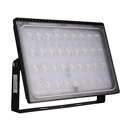 Yuanline Projecteur LED Extérieur 10W 20W 30W 50W 100W 150W 200W 300W Spot ultra-mince Blanc Chaud Phare Intérieur et Extérieur Imperméable IP67 pour Jardin Cour Terrasse Square Usine (200W)