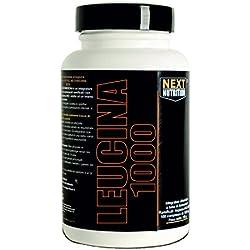 leucina 90 tabletas | 1 paquetes | Aminoácidos Next Nutrition | 1000 mg de leucina por tableta | recuperación de recuperación muscular | suplementos de ciclismo culturismo | Bodybuilding