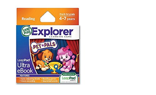 LeapFrog - LeapPad Ultra - eBook - Pet Pals - Version Anglaise (Import Royaume Uni)