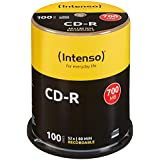 Intenso 1001126 CD-R 52x 100 Pack Cakebox