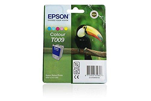 1290 Tinte (Epson Stylus Photo 1290 S - Original Epson C13T00940110 / T009 / Stylus Photo 1270 Color Tinte -)