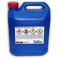 Disolvente Universal de limpieza (brochas, pistolas, máquinas de cortina e instalaciones de pintado en general) - 5 litros -