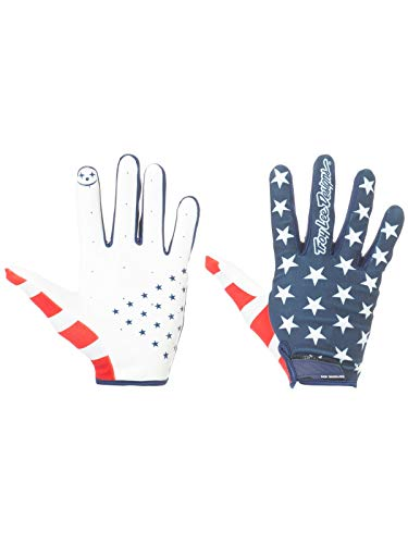 20661f4b39f Guantes Mx Troy Lee Designs 2018 Air Americana Azuloscuro-Rojo (L