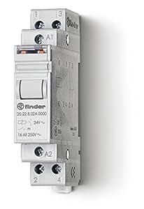 Finder 202290120000PAS Télérupteur modulaire 12 Vdc 2 NO 16 A