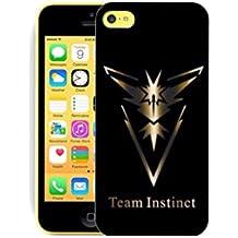 Funda carcasa pokemon go para Iphone 5c equipa Instinct plastico rigido