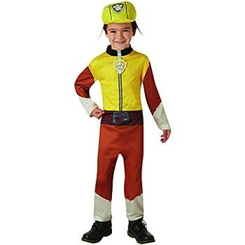 Boys Paw Patrol Marshall Costume Fancy Dress Fire Fighter Book Day Dog Kid Child