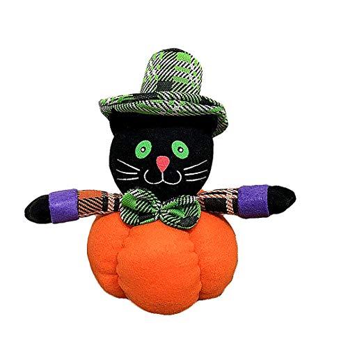 Beito Halloween-Kürbis-Puppen Dekoration Heim Ornament Plüsch-Puppe spielt für Partei-Geschenk 9.5