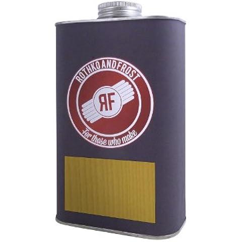 Dartfords - Vernice alla nitrocellulosa per chitarra, latta da 1 litro, colore: ambra, GP0820