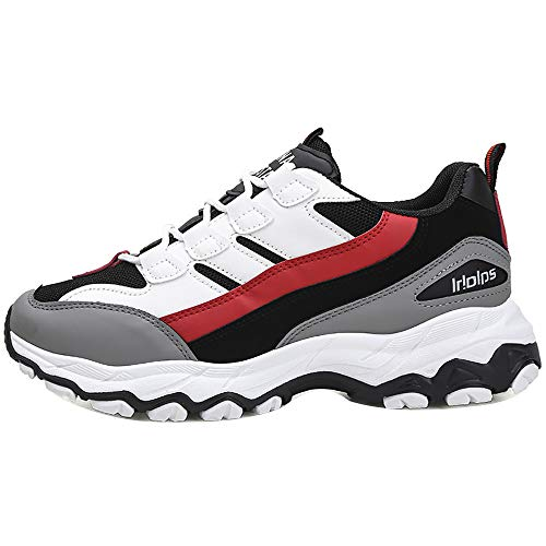 LuckyGirls Zapatos para Hombres Transpirable Casual Color de Mezcla Zapatillas de Correr Running Calzado Deportivo de Marea