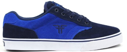 Fallen SLASH Youth 43070008, Chaussures de skateboard mixte enfant blau/d