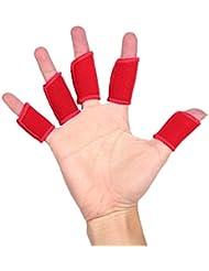 Protection de Doigts Manches Sports Élastique pour Basketball Volleyball Baseball Hand-ball