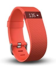 Fitbit Charge HR large orange, FB405TAL-EU