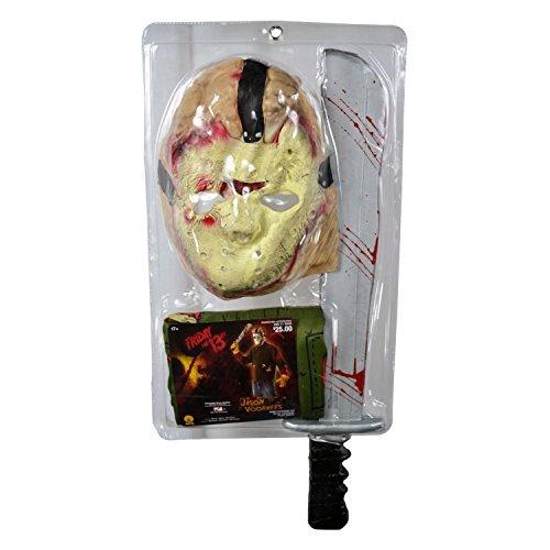 Friday The 13th JASON VOORHEES Costume Kit Halloween Carnevale - Taglia Unica Rubie's