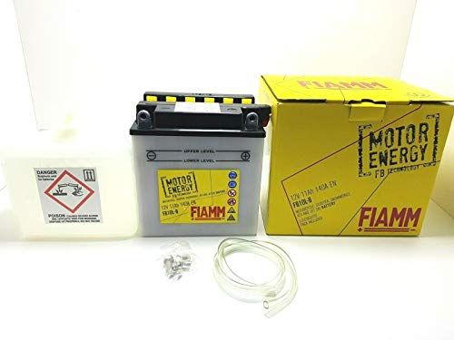 BATTERIA FIAMM YB10L-BP 12V 11 AH BEVERLY 500 20022006 X9 500 2001 2002