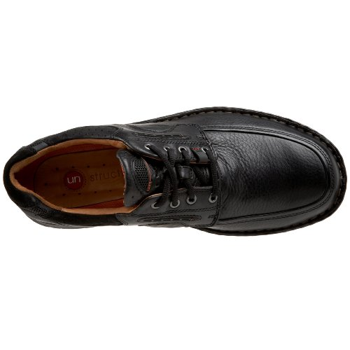 Clarks Unstructured Un.bend Casual Oxford Black