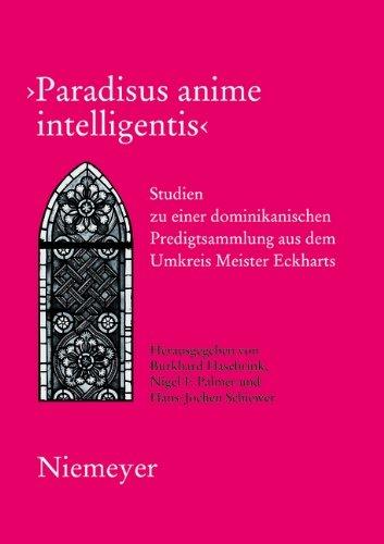 Paradisus anime intelligentis (German Edition)