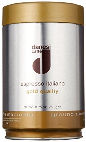 Danesi Caffè Espresso Oro, Gemahlen, 3er Pack (3 x 250 g)